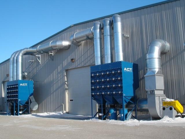Industrial Welding Smoke Dust Collection
