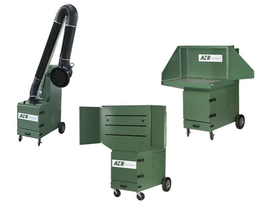 Portable Cartridge DownDraft Bench Dust Collectors