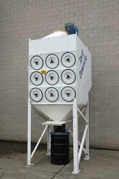 Used Torit DFT 3-18 downflo dust collector