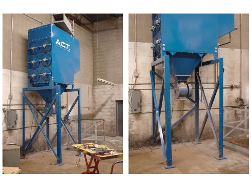 Used ACT 3-12 Downflow Dust Collector