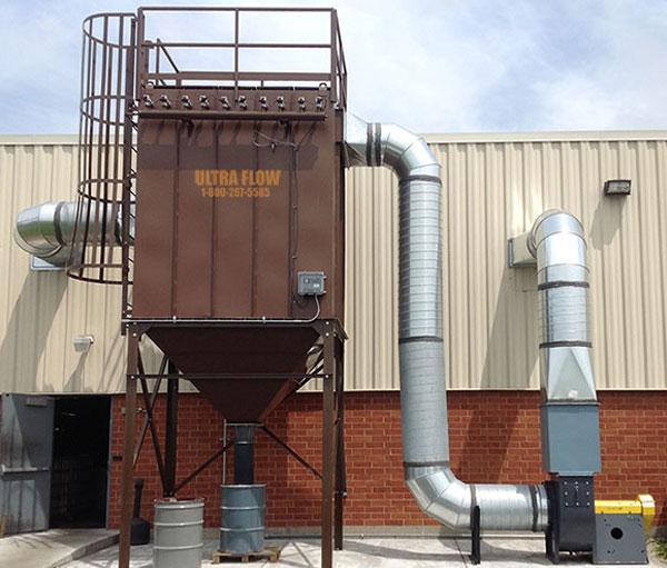 Used ACT 4-48 Cartridge Style Dust Collector