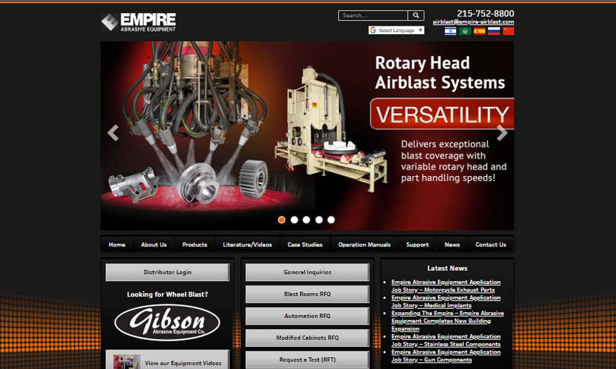 Empire Abrasive Equipment Company