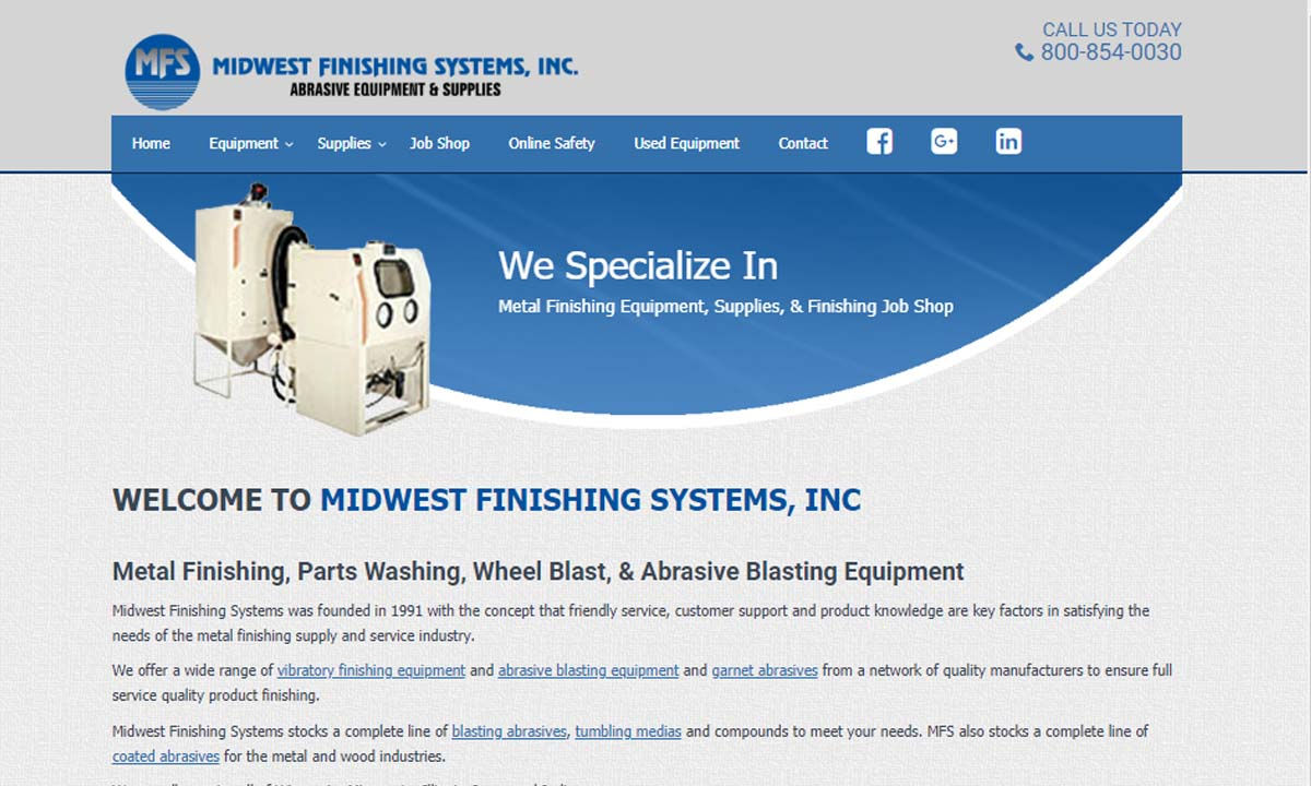 Midwest Finishing Systems, Inc.