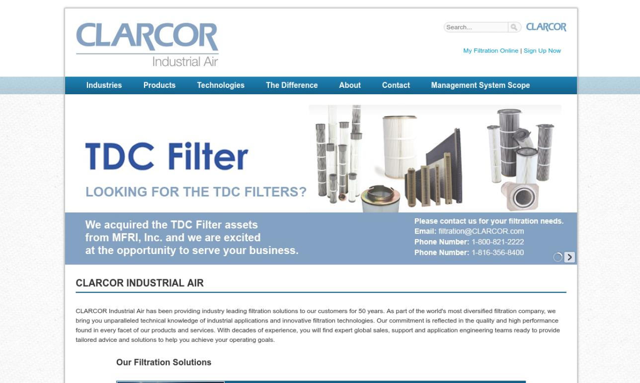 CLARCOR Industrial Air