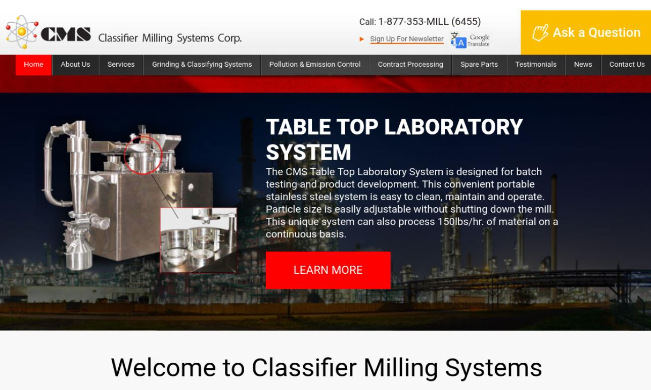 Classifier Milling Systems Inc.