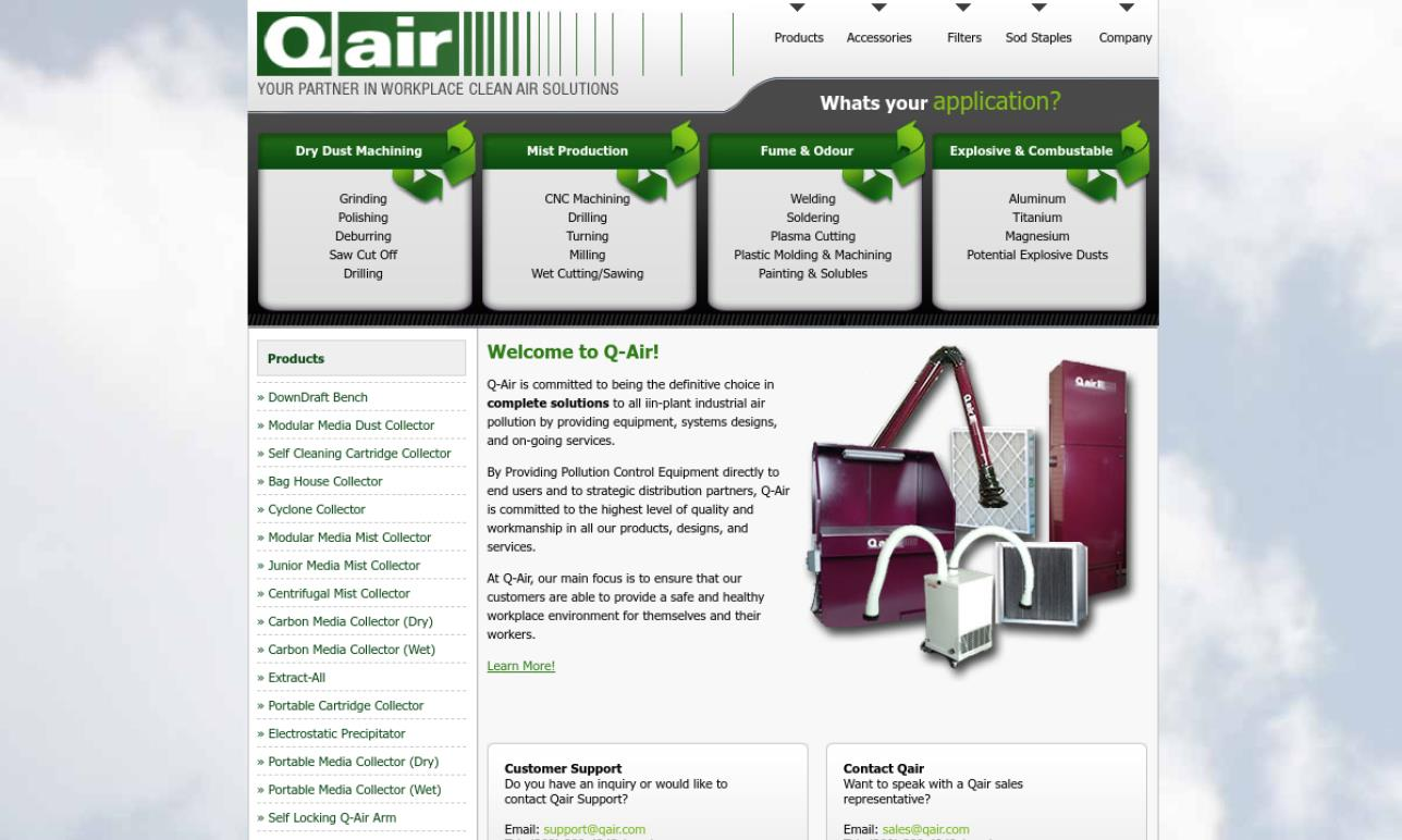 Q-Air Environmental Controls